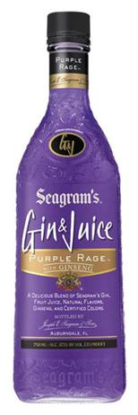 Seagram's Gin & Juice Purple Rage With Ginseng